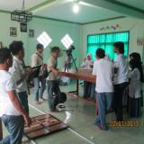 Syuting di Laboratorium