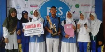 Juara III Olimpiade Ekonomi Islam Tingkat SMA/SMK/MA se-Kabupaten Ciamis