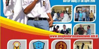 Penerimaan Siswa Baru SMA Plus Darussalam Gelombang 2