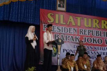 Siswi SMA Plus Darussalam Mendapatkan Hadiah Dari Presiden RI