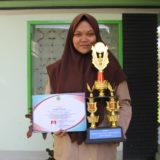Selviana Gunawan, siswi SMA Plus Darussalam peraih Juara 1 Olimpiade Sains Nasional (OSN) Tingkat Kabupaten Mata Pelajaran Astronomi